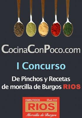 Recetas participantes I Concurso de pinchos y recetas con morcillas Ríos