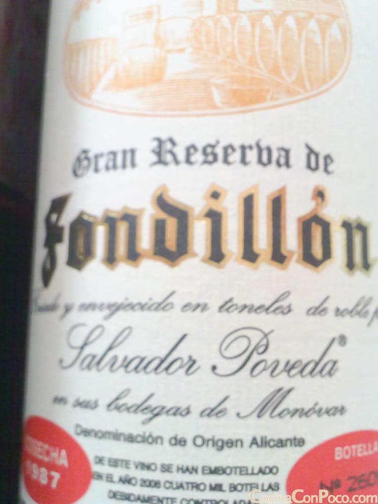 Fondillon Salvador Poveda