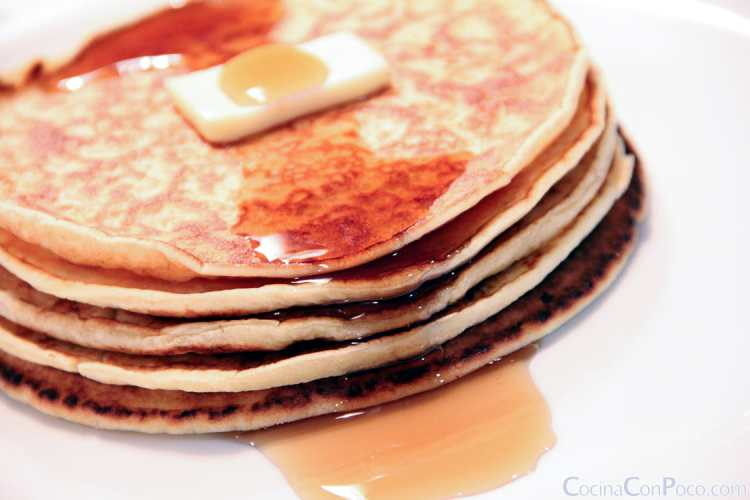 Pancakes caseros - Sin gluten