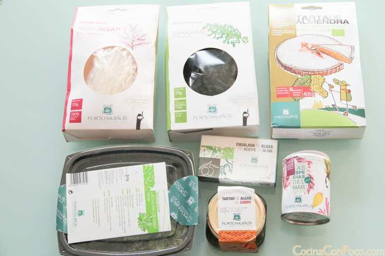 Algas comestibles online Portomuiños