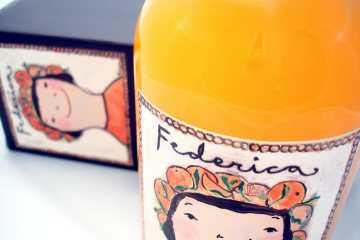 arancello Federica licor naranja