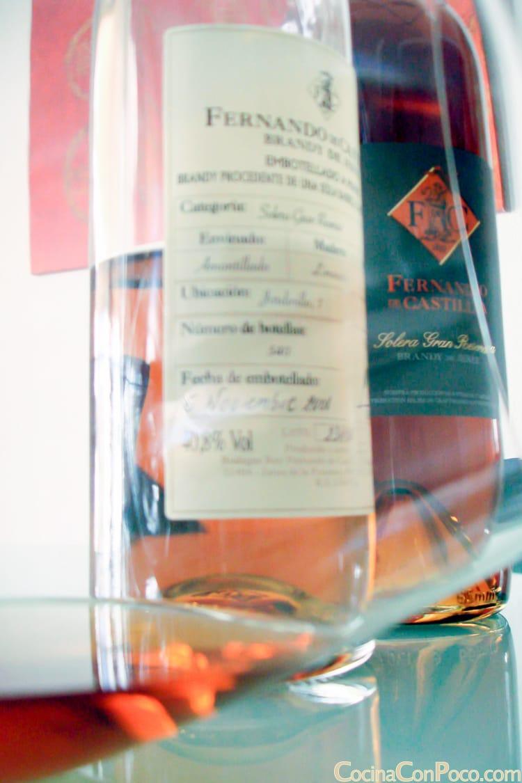bodegas Rey Fernando de Castilla Brandy