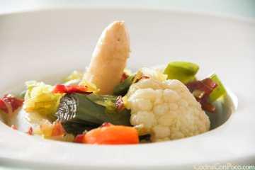 menestra de verduras receta facil