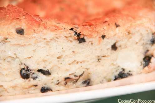 Pan de aceitunas negras - Sin gluten - Paso a paso