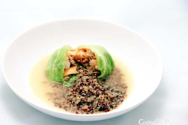 sopa de quinoa o quinua - receta