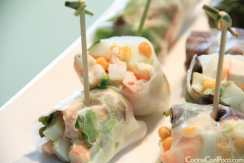 Rollitos de sepia y wasabi