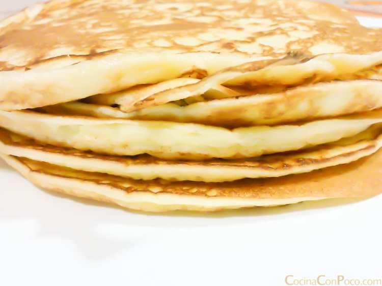 Tortitas americanas – Sin gluten – Paso a paso