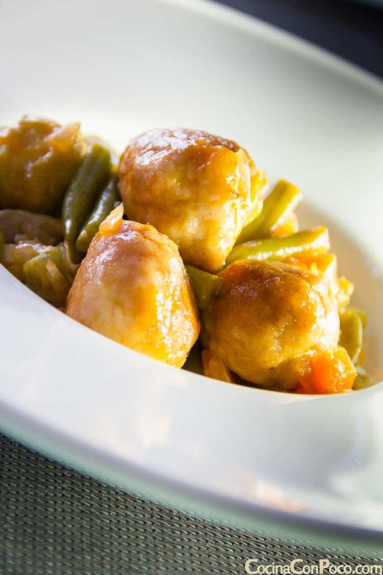Alb ndigas con verdura paso a paso cocina con poco - Albondigas de verdura ...