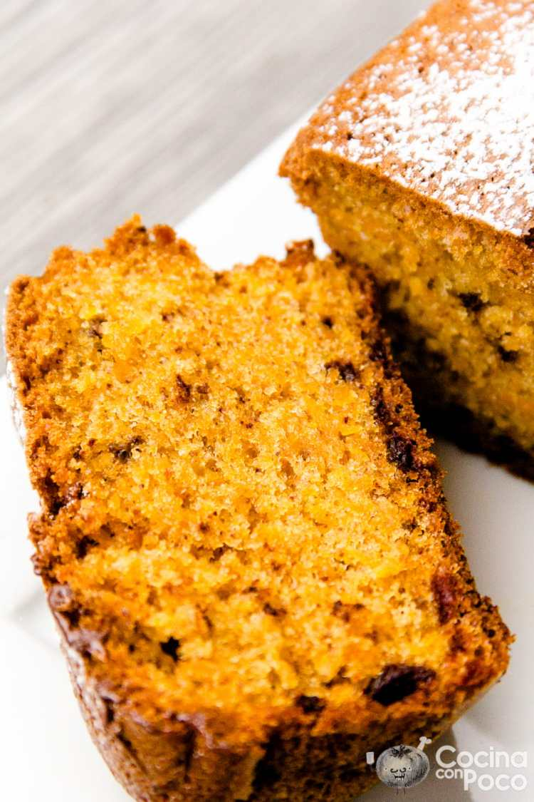 Bizcocho de zanahoria y chocolate facil sin gluten - Cocina facil sin gluten ...