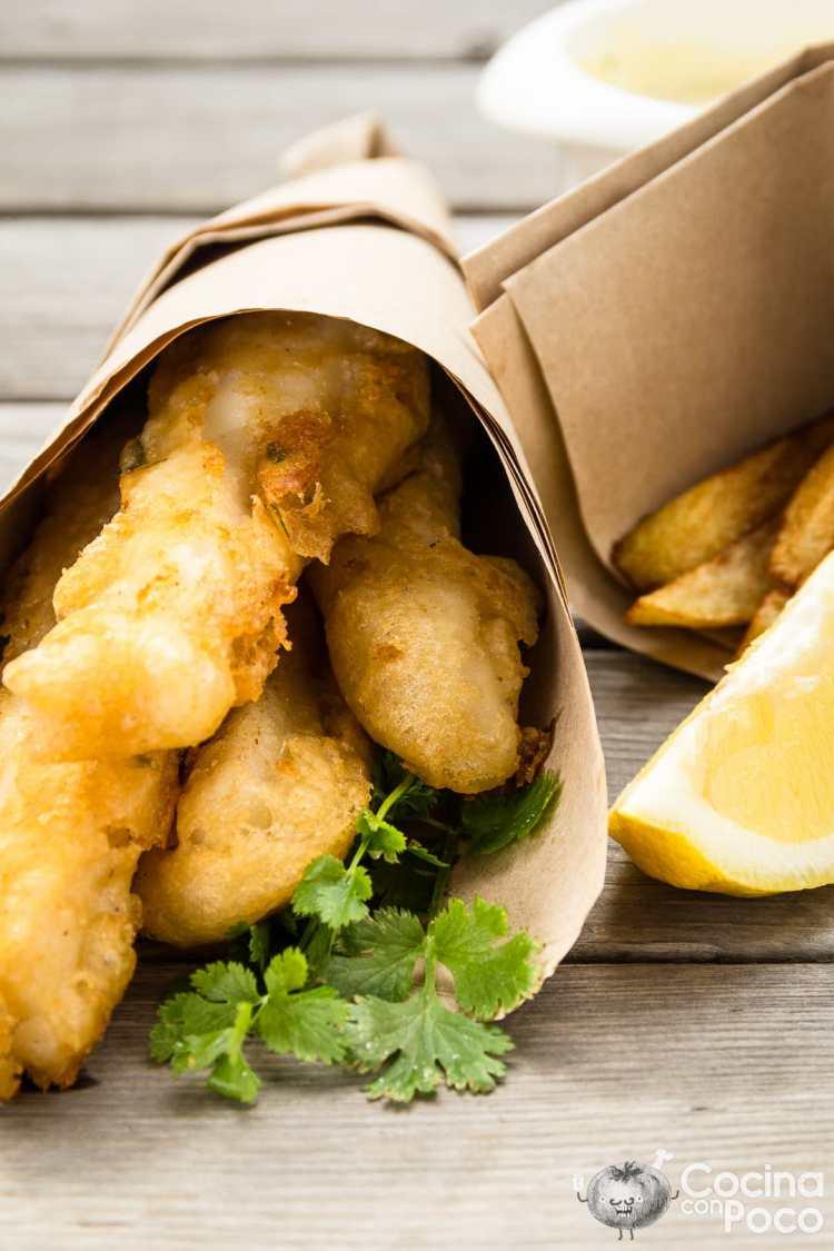 fish and chips receta original paso a paso