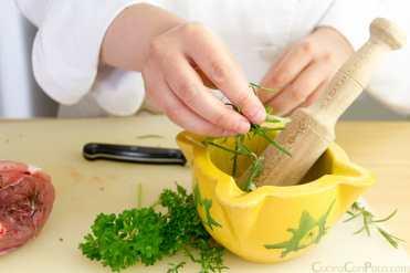 garretas de cordero al horno receta paso a paso
