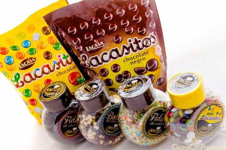 Lacasa – Chocolates y toppings