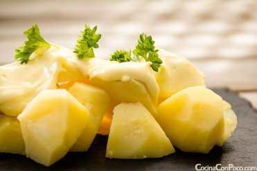 patatas alioli receta facil original
