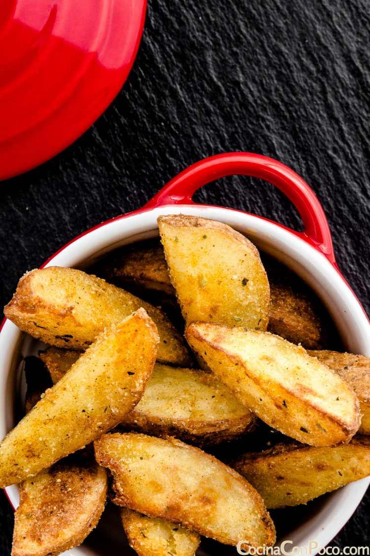 patatas deluxe de luxe caseras receta paso a paso