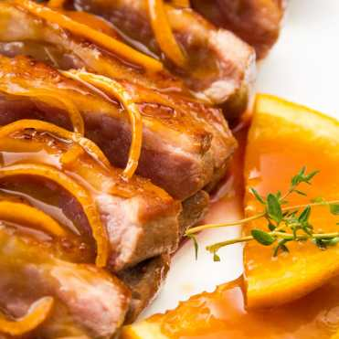 pato a la naranja chino receta