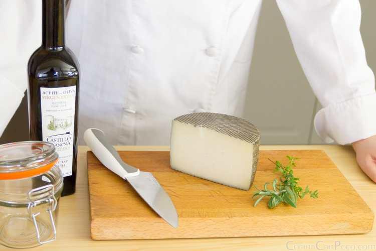 como hacer queso en aceite receta casera paso a paso