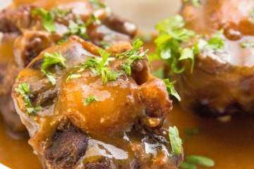Rabo de toro receta olla express tradicional