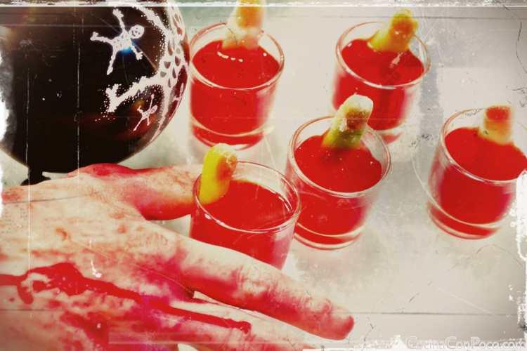 Receta cocktail halloween
