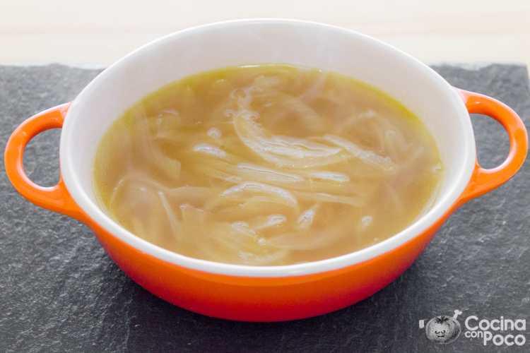 sopa de cebolla receta sencilla tradicional original