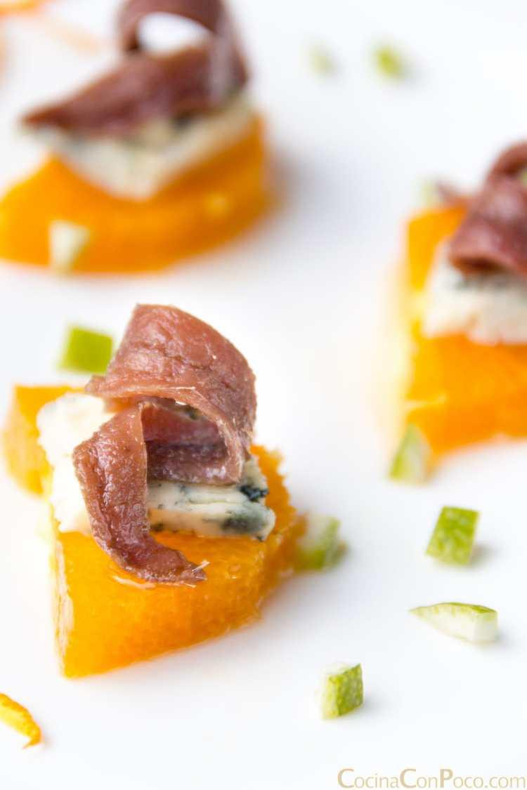 Tapa anchoa conserva fácil original