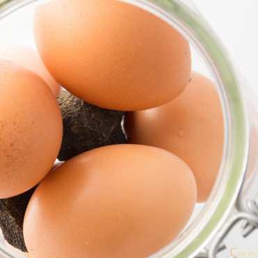 trufas huevos trufados casa