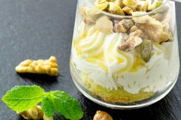 yogur turco postre receta
