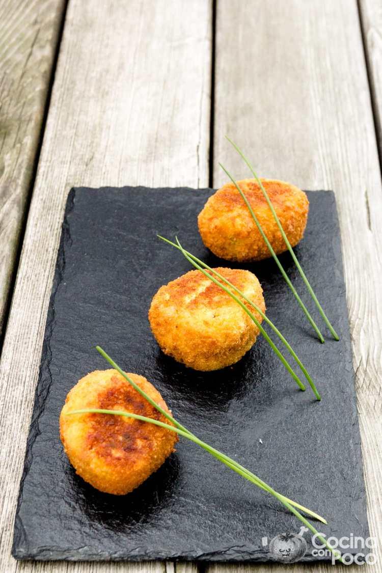 croquetas de jamón serrano caseras sin gluten