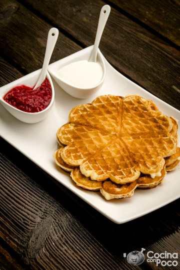 vafler waffle gofres noruego sin gluten