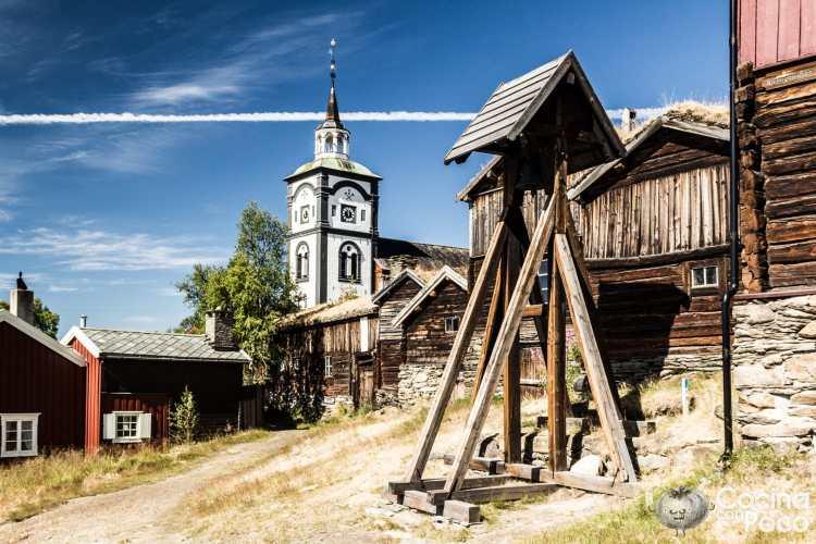 Visita a Røros Noruega Ciudad Patrimonio de la Humanidad de la Unesco