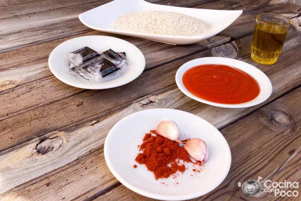 arroz negro receta fácil paso a paso