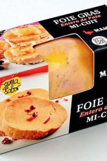 receta con Foie Micuit de pato