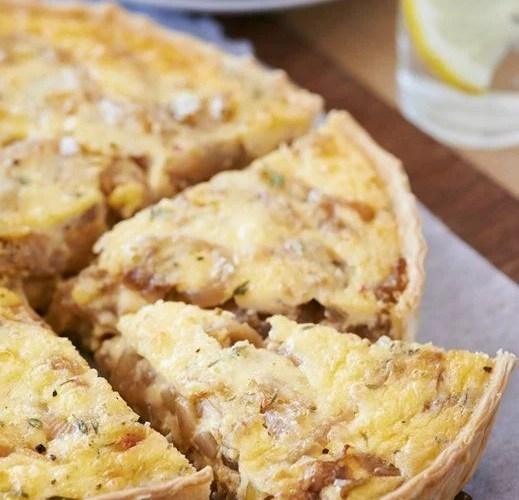 tarta de choclo y queso cremoso