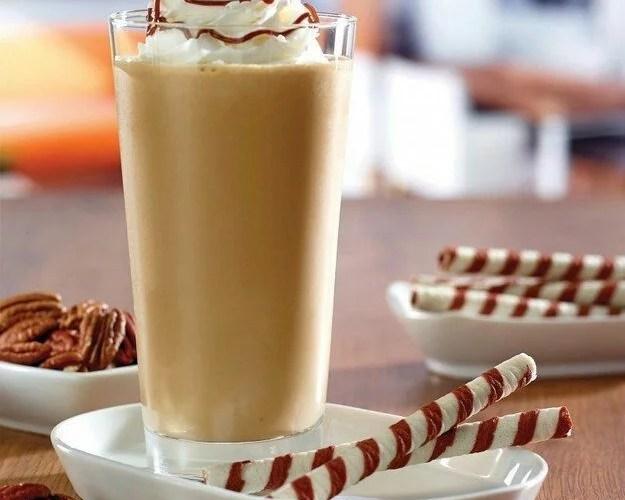 Batido energizante de dulce de leche y cacao