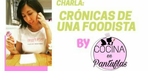 Charla Mardel Veg: Crónicas de una foodista.