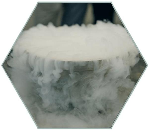 cocina con nitrogeno