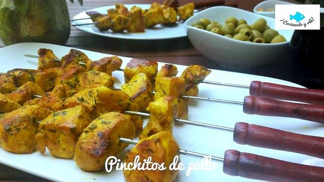 Pinchitos de pollo