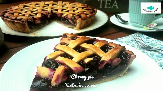 Cherry pie o tarta de cereza