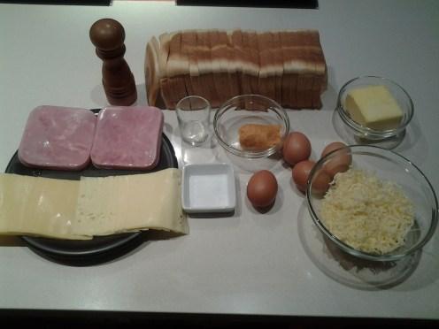 sandwich al horno con queso - 1 ingredientes