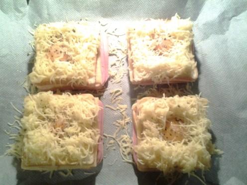 sandwich al horno con queso - 12