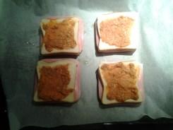 sandwich al horno con queso - 5