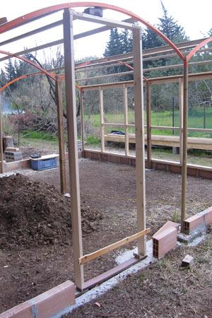 Puertas y marcos de la construcción