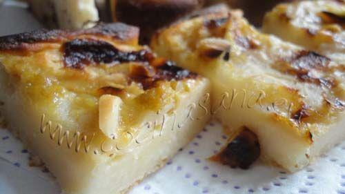 tarta de manzana sin azúcar y sin grasas: lista!