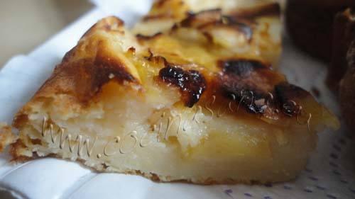 tarta de manzana sin azúcar y sin grasas: puedes comerla cuando quieras!