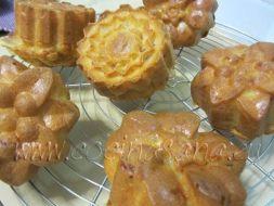 Muffins con forma de flor. Una receta para sorprender
