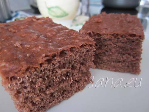 Receta de tarta de chocolate de mi madre