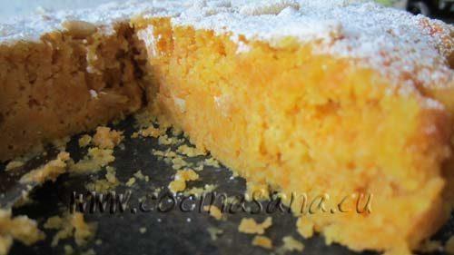 Receta de tarta de zanahorias