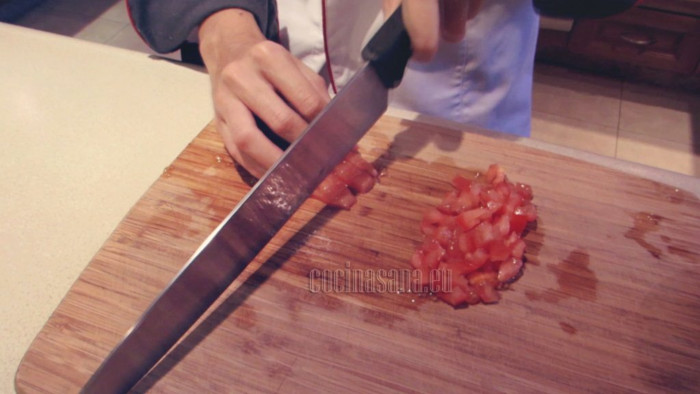 Pica el tomate