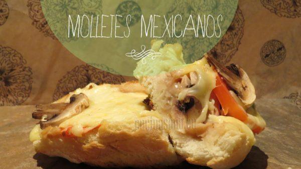 Molletes mexicanos