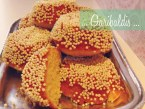 Como hacer Garibaldis: Tradicionales de la panadería mexicana. Receta con Vídeo
