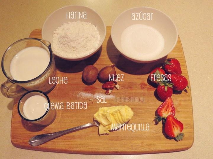 Algunos de los ingredientes que necesitarás